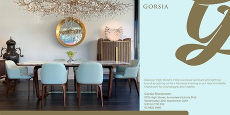 Gorsia Showroom opening tickets