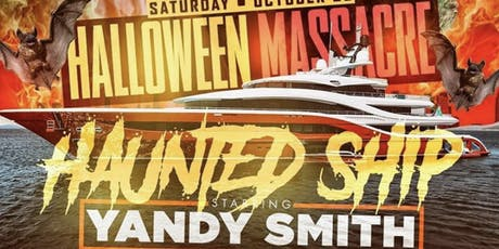 HAUNTED SHIP w/ YANDY SMITH on the Hornblower  tickets