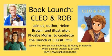 Book Launch: CLEO & ROB tickets