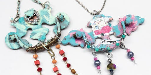 Make and Take Upcycled Necklace Class