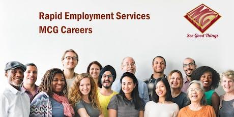 Employment Services tickets