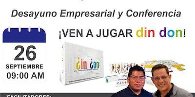 CONFERENCIA TALLER TRABJO EN EQUIPO CON  JUGAR DIN DON