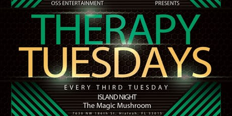 Therapy Tuesdays Island Vibez tickets