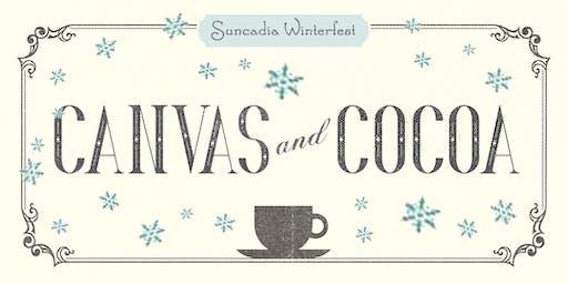Snowflake Canvas & Cocoa