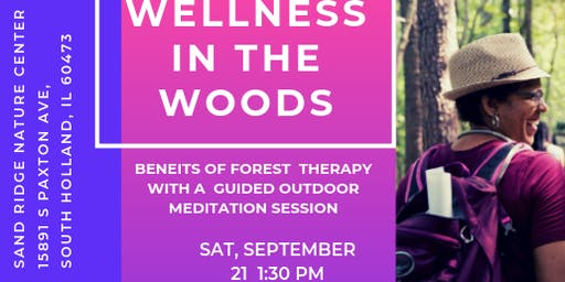 Wellness in the Woods: Benefits of Forest Therapy with Guided Meditation