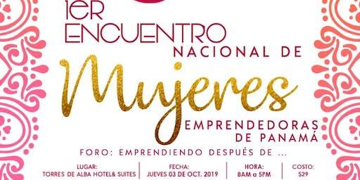 1reEncuentro Nacional de Mujeres Emprendedoras de Panamá