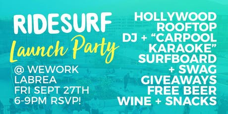 Ridesurf Launch Party tickets