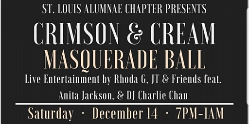 CRIMSON AND CREAM MASQUERADE BALL