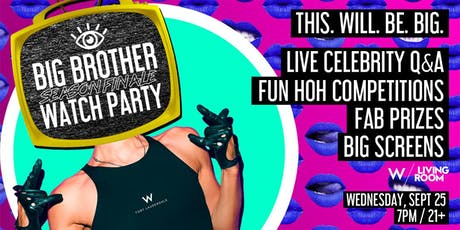 BIG BROTHER Season Finale Watch Party - Live Celebrity Q&A tickets
