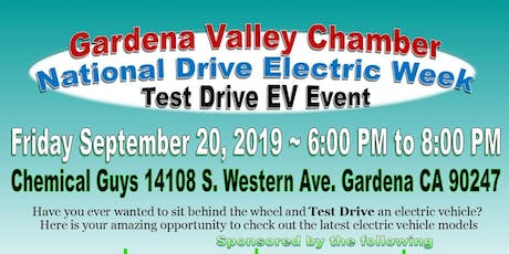 Gardena Chamber National Drive Electric Week - Test Drive Event tickets