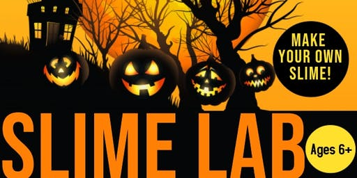 Slime Lab- Halloween Edition