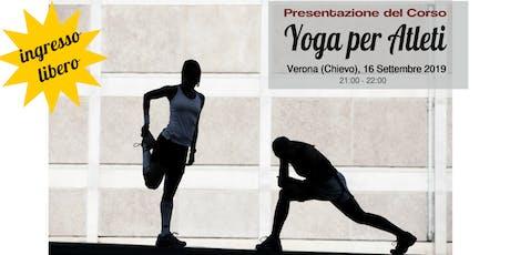 Corso Di Yoga Per Atleti - Verona 2019/2020 biglietti