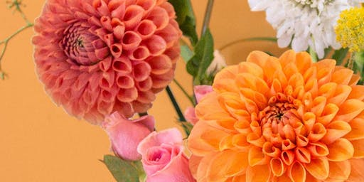 Fall Floral Arranging with Fractal Flora at Backyard SJ