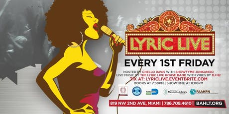 Lyric Live @ the Black Archives Historic Lyric Theater tickets