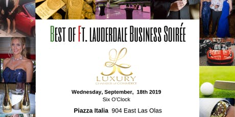 The Best of Ft. Lauderdale Business Soirée tickets