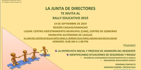 Rally ADCCLD 2019, Región Caguas / Humacao tickets