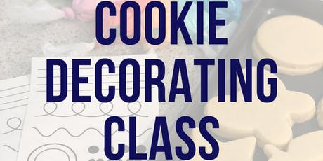 Halloween Cookie Decorating Class! tickets