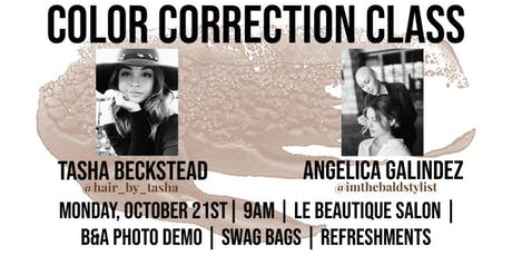 Color Correction Class tickets