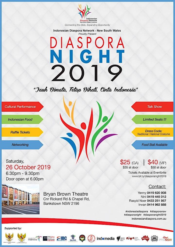 Indonesian Diaspora Night 2019 image