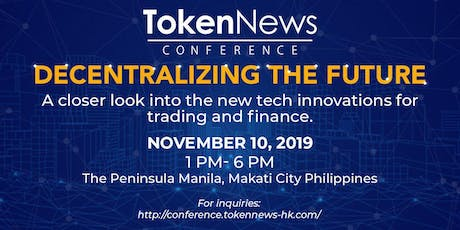 TN Conference 2019: Decentralizing the Future tickets