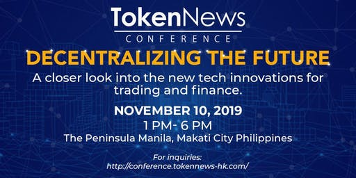 TN Conference 2019: Decentralizing the Future