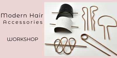 Handmade Metal Hair Accessories - At Lotus on Cedros