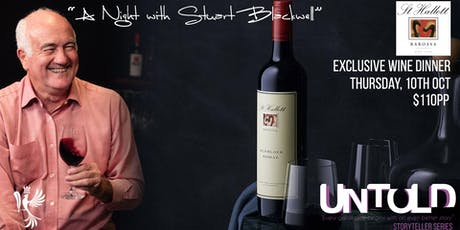 "UNTOLD #2 ""St Hallett Wine Dinner""  tickets"