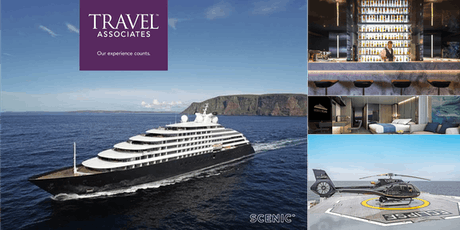 Luxury Ocean Cruising aboard the brand new SCENIC Eclipse tickets