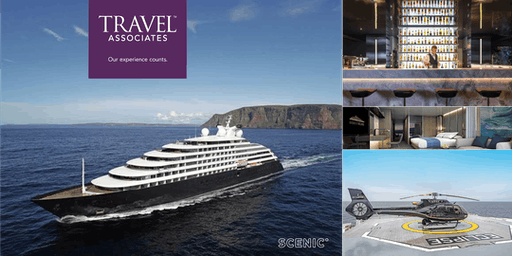 Luxury Ocean Cruising aboard the brand new SCENIC Eclipse