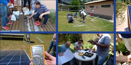 Curso de Instalador de Gerador Solar Fotovoltaico Conectado a Rede On-Grid. ingressos