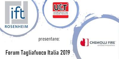 Forum Tagliafuoco Italia - Bardolino (VR) - 25 ottobre 2019