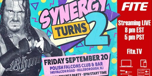 Synergy 90s Birthday Party starring Rhyno: Live on FITE