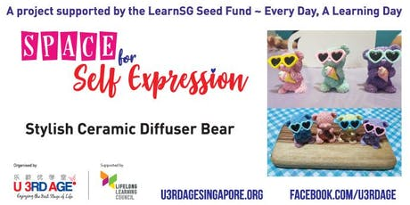 Stylish Ceramic Diffuser Bear 26 Sep Thu 2.30pm tickets