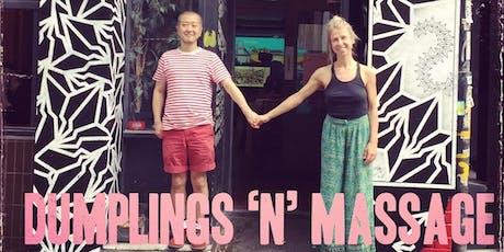Dumplings N' Massage Tuesdays - October 2019 tickets