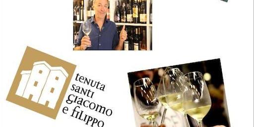 Dégustation avec viticulteurs italiens