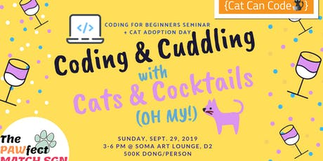 Coding & Cuddling with Cats & Cocktails (Oh My!) tickets
