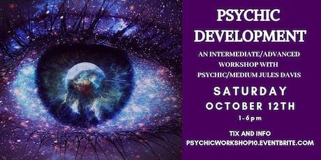 Psychic Development Workshop - Intermediate/Advanced Level tickets