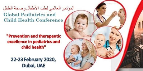 Global Pediatrics and Child Health Conference tickets