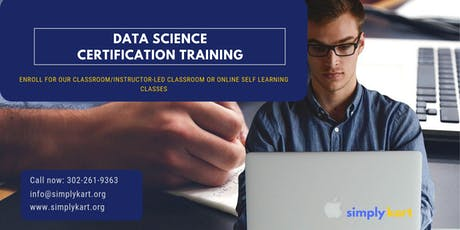Data Science Certification Training in  Hull, PE tickets