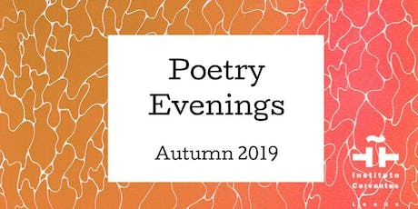 October Poetry Evening at the Leeds Instituto Cervantes tickets