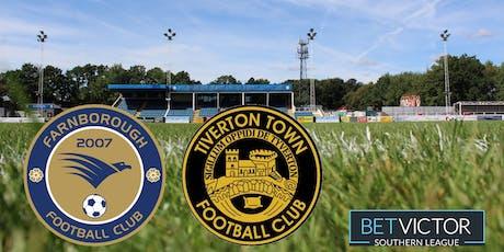Farnborough v Tiverton Town tickets