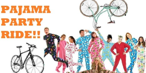 Pajama Party Ride: Cambridge Bike Party - September Event
