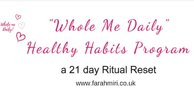 Whole ME Daily Healthy Habits Program