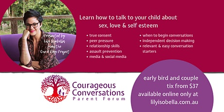 GEELONG - Courageous Conversations Parent Forum tickets