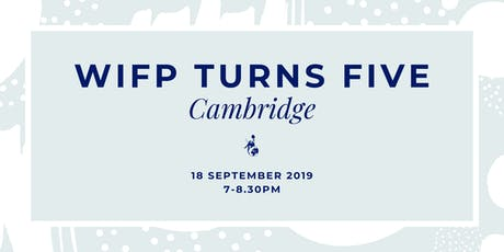 Women in Foreign Policy Turns Five: Cambridge tickets