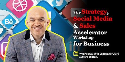 Marketing STRATEGY, SOCIAL Media & SALES Accelerator Workshop