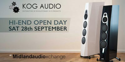 Kog Audio open day at Midlandaudiox 28th September