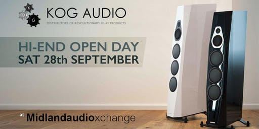 Kog Audio open day at Midlandaudiox 28th September