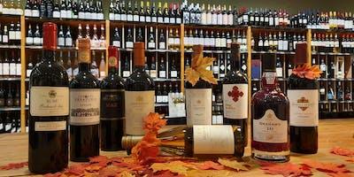 Najaars wijnproeverij