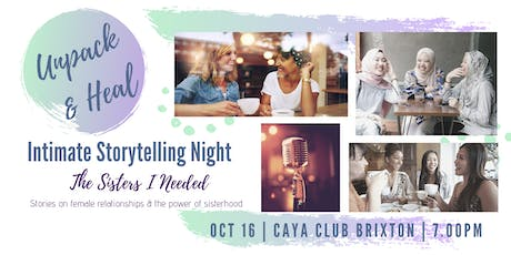 The Sisters I Needed - Women's Storytelling Night tickets